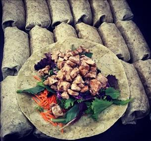 **SWEET TERIYAKI CHICKEN WRAP (COLD WRAP)