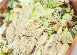 *GRILLED CHICKEN CAESAR SALAD