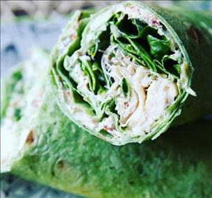**CHICKEN CAESAR WRAP (cold wrap)